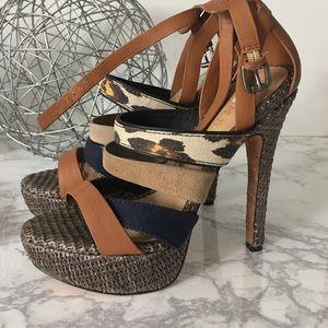 L.A.M.B. Shoes - L.A.M.B. Heel Sandals size 7.5
