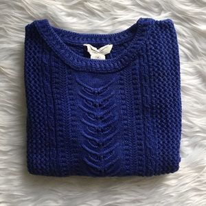 Workshop Sweaters - Cropped  Cable Knit Sweater