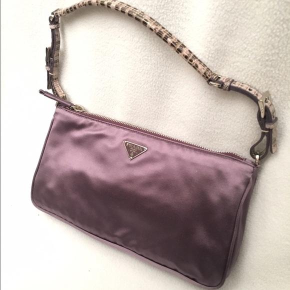 0ff595789c1c Prada Satin lavender Purple handbag. M_5884ff3813302a3ed70115fb