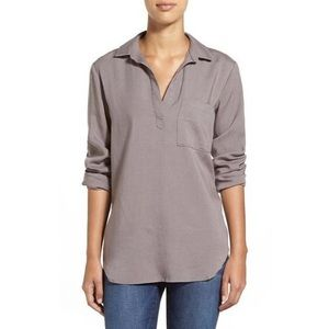 Anthropologie Grey Cloth & Stone Tunic.