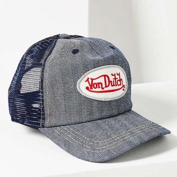 Vintage Von Dutch trucker hat 2cdf5104ecf