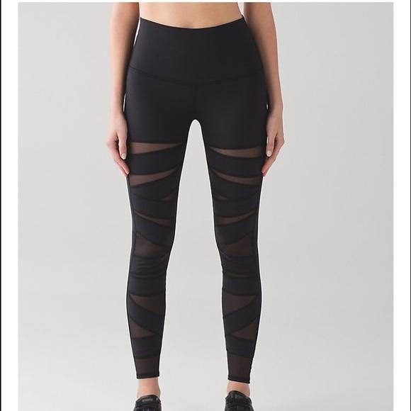2ba2fbbd9b lululemon athletica Pants | Lululemon Wunder Under Pant Tech Mesh ...