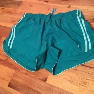 Danskin Now Pants - Danskin teal shorts
