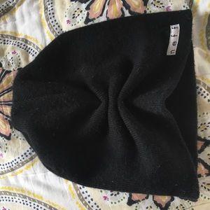 Neff Accessories - Ruched black Neff beanie!