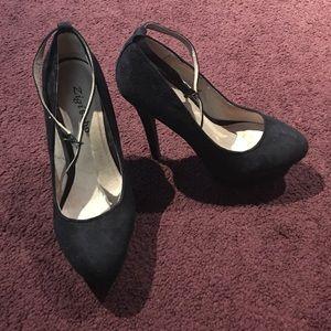 Zigi Soho Shoes - Black Suede Pumps 👠