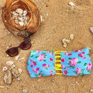 Boys + Arrows Other - Reversible Floral Swim Top
