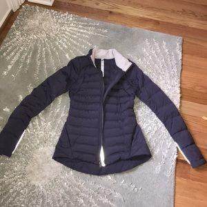 Lululemon fluffed up jacket - great condition