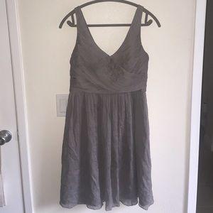 JCrew Gray Bridesmaid dress- tags still on!