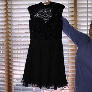 Sherri Hill Dresses - Black Beaded Sherri Hill 2016 Collection