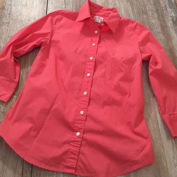 J. Crew - J. Crew Haberdashery Coral button down shirt from ...
