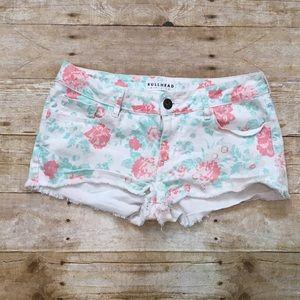 Bullhead Pants - Bullhead (Pac Sun) floral shorts