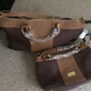 Handbags - Leather luggage set
