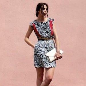 Mango Dresses & Skirts - Black & White Floral Dress!