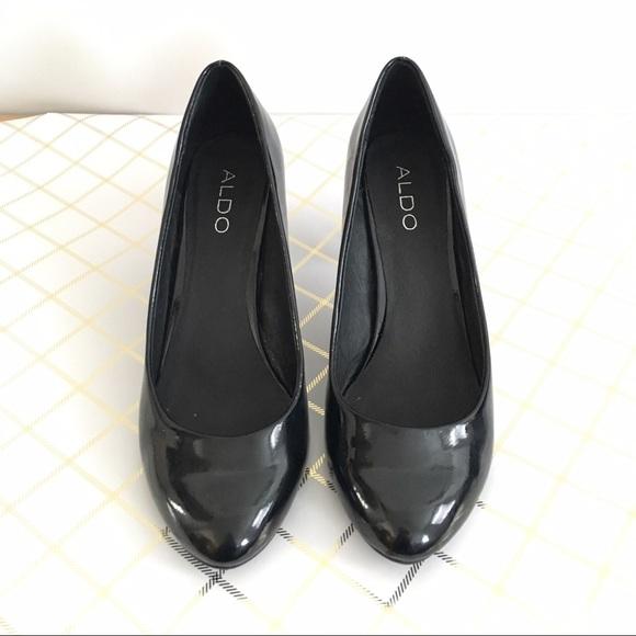 Aldo Shoes - Aldo black patent heels