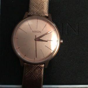 Nixon Accessories - Rose gold Nixon watch
