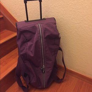 Kipling rolling travel Bag