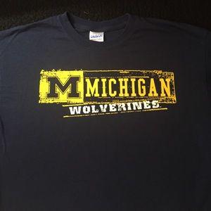 Gildan Other - University of Michigan Wolverines NCAA T-Shirt