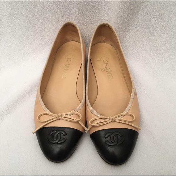 b4686b8c0d42f CHANEL Shoes - Authentic Chanel Ballerina Flats