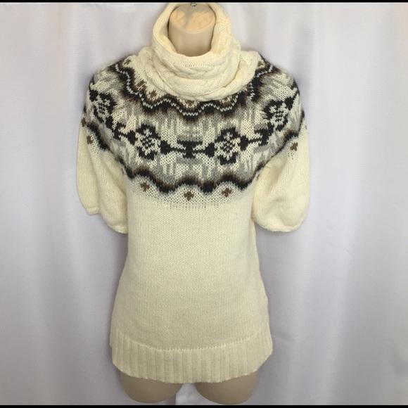 67% off Old Navy Sweaters - Old Navy Fair Isle Short Sleeve ...