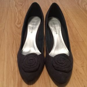 Ann Marino Shoes - Grey Ann Marino Heels