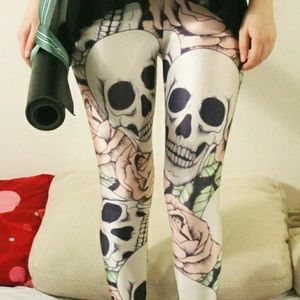 Pants - Scull leggings