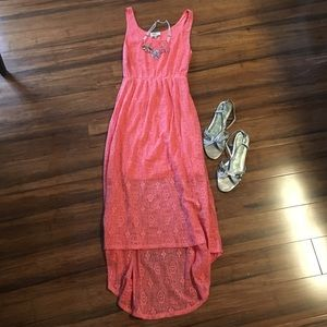 NWT Nordstrom Rack hi-low dress.