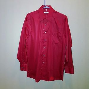 Geoffrey Beene Other - Geoffrey Beene Red Dress Shirt - M - NWT