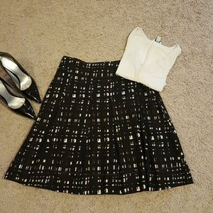 New York & Company Dresses & Skirts - Pinch-pleated Skirt