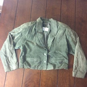 Lord & Taylor Jackets & Blazers - Clearance! Lord and Taylor suede vintage jacket