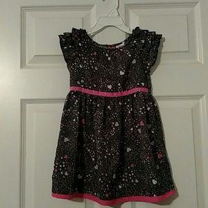 Circo Other - NWOT Circo Heart Dress w/pink ribbon detail VDAY?