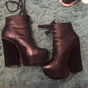 Shellys London heeled booties