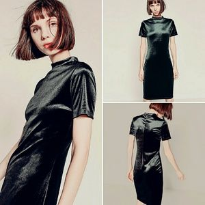Zara Dresses & Skirts - 🌴SALE🌴Zara TRF Black Velvet Dress