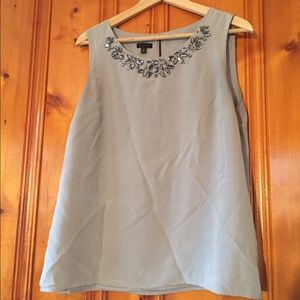 Talbots Tops - Talbots gray sparkle blouse