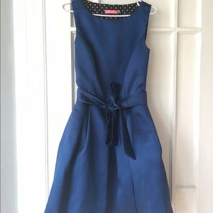 Isaac Mizrahi Royal Blue Belted Fit and Flare sz 4