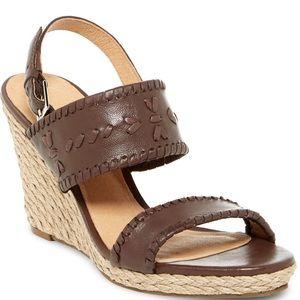 "Jack Rogers Shoes - NWOT- Jack Rogers ""Vanessa"" Platform Wedge sz 7"