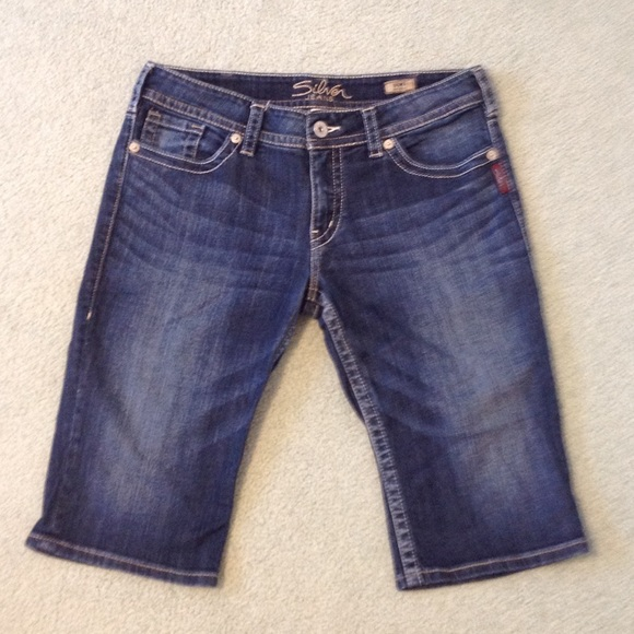 68% off Silver Jeans Pants - Silver Jeans Suki Bermuda shorts size ...