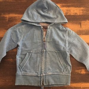 Stella McCartney for GAP light denim sweater Sz 2T