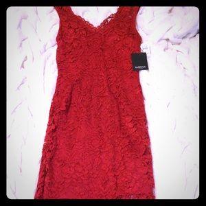 Marina Rinaldi Dresses & Skirts - NWT Marina Red lace dress