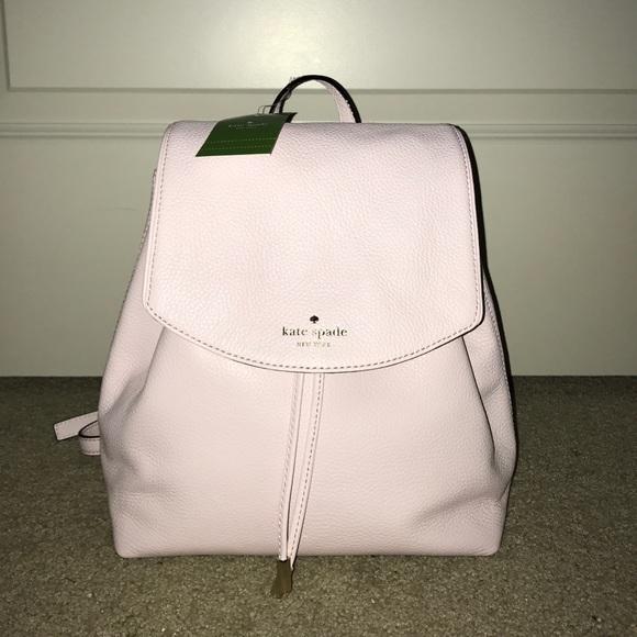 d5b1de65b2 NWT Kate Spade Light Pink Mulberry Backpack