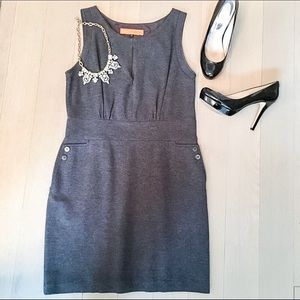 Cynthia Steffe Dresses & Skirts - Cynthia Steffe Charcoal Gray Sheath Dress