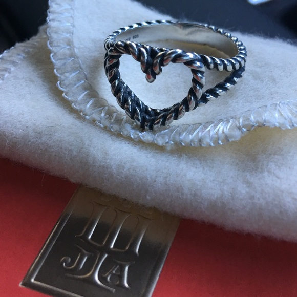 James Avery Jewelry | Twisted Wire Heart Ring | Poshmark