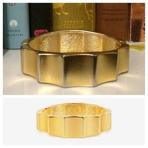Adia Kibur Jewelry - $34 ADIA KIBUR Hinged Industrial Bracelet Goldtone