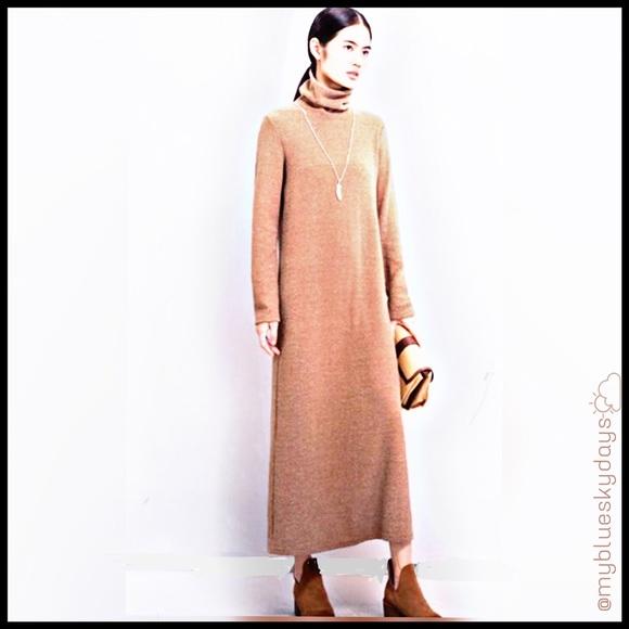 Maxi Turtleneck Dress 🌹plus size 🌹🌝new🌝 Boutique
