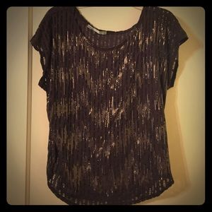 Maurices Dark grey Top -Large