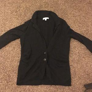Ellen Tracy black cardigan RN: 125598