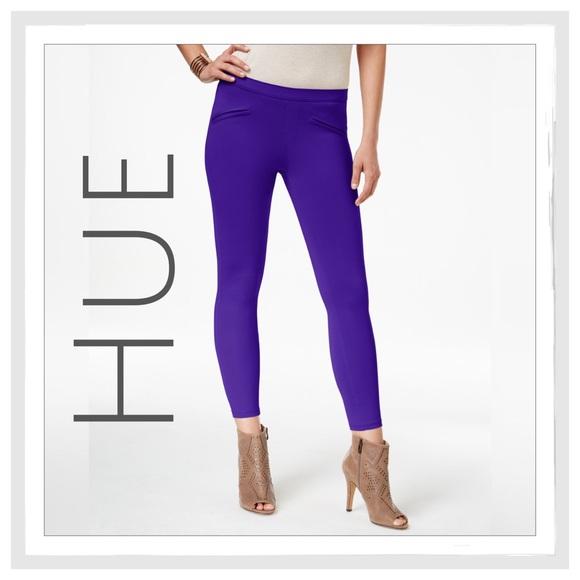 3f915a6a9d7e34 HUE Pants | Satin Jersey Skimmer Leggings | Poshmark