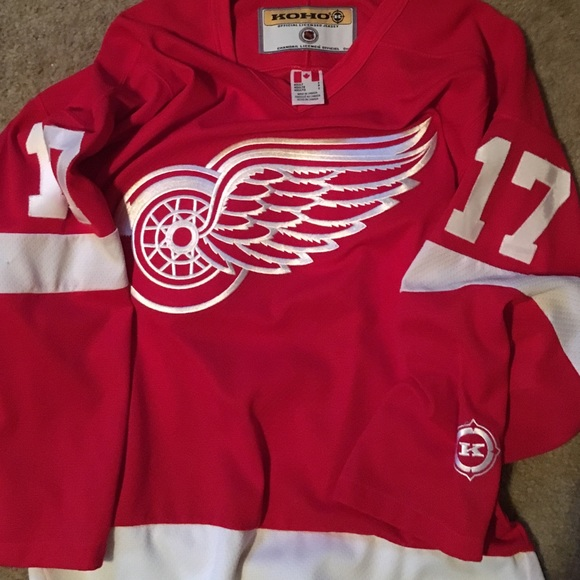 promo code b9683 a2724 Red Wings Jersey