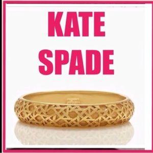 Kate Spade gold bangle