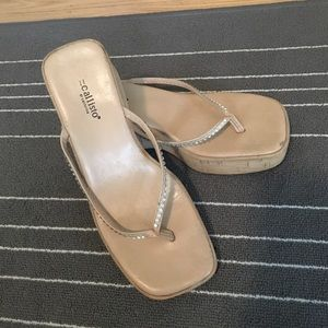 Callisto Shoes - Callisto wedged sandals