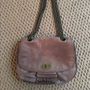 Madewell vintage style brown leather purse NWT
